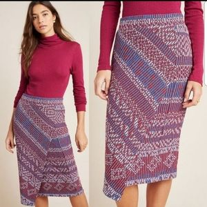 Anthropologie Maeve Pencil Skirt Sz XS